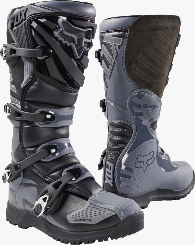 51b632f40e0 Motokrosové boty (enduro ATV) - Comp 5 Offroad Boot Black Grey ...