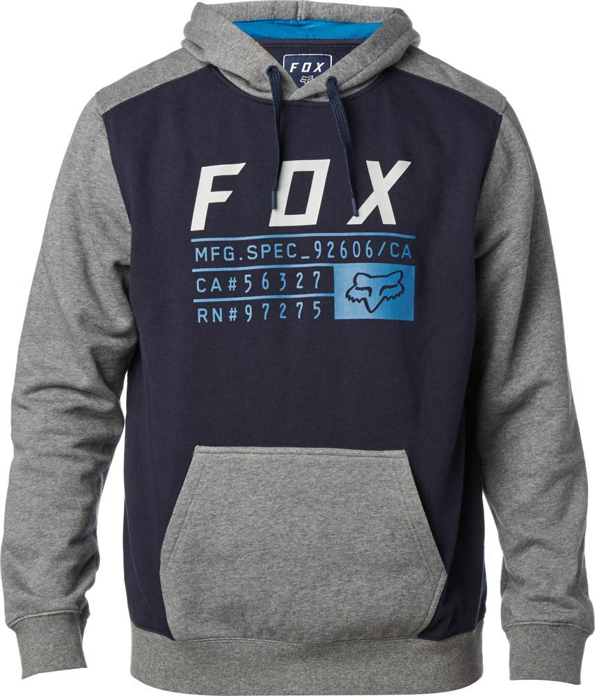 2a8e9ddb005 Pánská mikina FOX District 3 Pullover Fleece Midnight