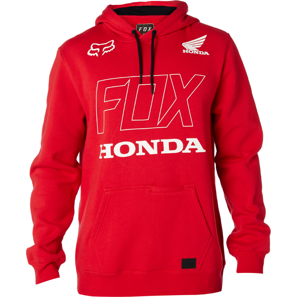 Pánská mikina - Honda Pullover Fleece Dark Red ... 937cffa7f78