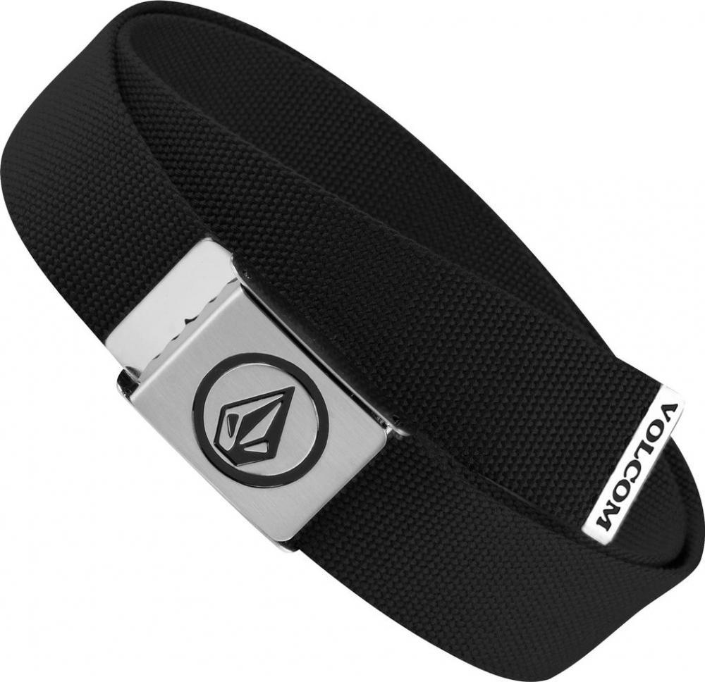 5a559f1b507 Textilní pásek Volcom Circle Web Black