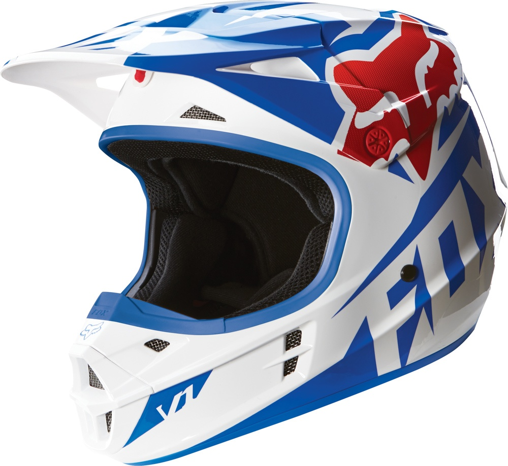 77809a4c1e1 Motokrosová přilba FOX V1 RACE HELMET
