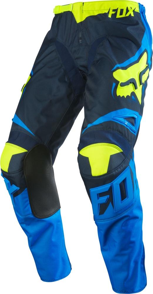 54f4d49d38b Dětské motokrosové kalhoty - 180 YTH RACE PANT Blue Yellow ...